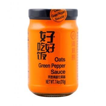 HDL OATMEAL GREEN PEPPER SAUCE
