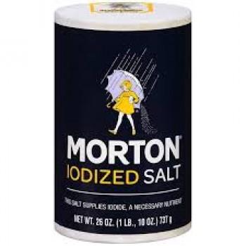 IODIZED SALT-MORTON 26OZ