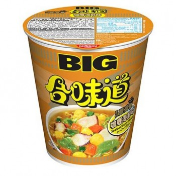 NISSIN SEAFOOD CURRY FLAV CUP NOODLES